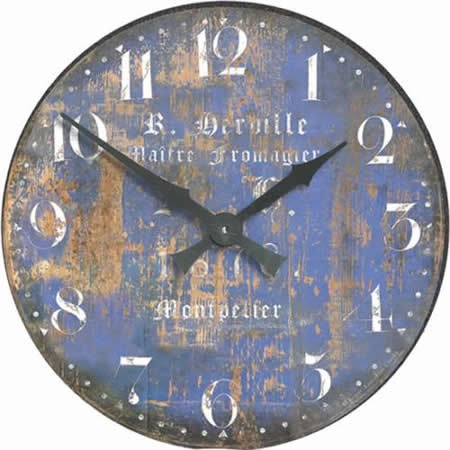 The Clock Factory French Cheesemakers Wall Clock