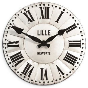 The Clock Factory Extra Large Lille Wall Clock