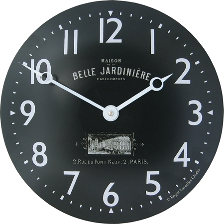 The Clock Factory French Convex Tin Clock Belle